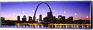 Skyline St Louis Missouri USA Fine-Art Print