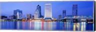 Night, Jacksonville, Florida, USA Fine-Art Print