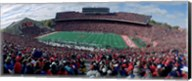 University Of Wisconsin Football Game, Camp Randall Stadium, Madison, Wisconsin, USA Fine-Art Print