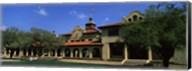 Facade of a building, Livestock Exchange Building, Fort Worth, Texas, USA Fine-Art Print