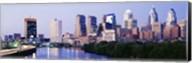 Skyline View of Downtown Philadelphia Fine-Art Print