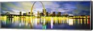 Evening, St Louis, Missouri, USA Fine-Art Print