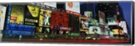 Billboards On Buildings In A City, Times Square, NYC, New York City, New York State, USA Fine-Art Print