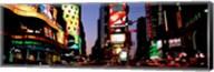 Times Square, New York City at night Fine-Art Print
