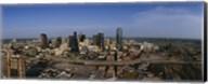 Aerial view of a city, Dallas, Texas, USA Fine-Art Print