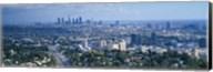 Aerial view of a city, Los Angeles, California, USA Fine-Art Print