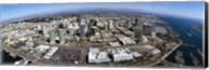 Aerial view of a city, San Diego, California, USA Fine-Art Print
