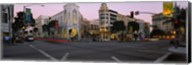 Buildings in a city, Rodeo Drive, Beverly Hills, California, USA Fine-Art Print