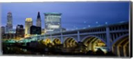 Detroit Avenue Bridge at Dusk Fine-Art Print