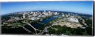Bird's Eye view of Austin,Texas Fine-Art Print