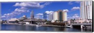 Buildings at the coast, Tampa, Hillsborough County, Florida, USA Fine-Art Print
