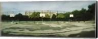 Basketball court in a public park, McCarran Park, Greenpoint, Brooklyn, New York City, New York State, USA Fine-Art Print