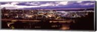 Aerial view of a city, Tacoma, Pierce County, Washington State, USA 2010 Fine-Art Print