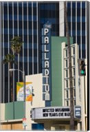 Theater in a city, Hollywood Palladium, Hollywood, Los Angeles, California, USA Fine-Art Print