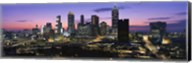 Atlanta skyline at night, Georgia, USA Fine-Art Print