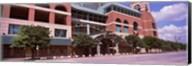 Facade of a baseball stadium, Minute Maid Park, Houston, Texas, USA Fine-Art Print