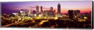Night, Atlanta, Georgia, USA Fine-Art Print