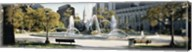 Fountain in a park, Swann Memorial Fountain, Logan Circle, Philadelphia, Philadelphia County, Pennsylvania, USA Fine-Art Print