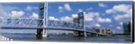 Main Street Bridge, Jacksonville, Florida, USA Fine-Art Print