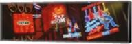 Neon Signs, Beale Street, Memphis, Tennessee, USA Fine-Art Print