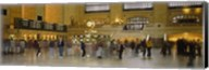 Group of people walking in a station, Grand Central Station, Manhattan, New York City, New York State, USA Fine-Art Print
