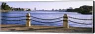 Lake In A City, Lake Merritt, Oakland, California, USA Fine-Art Print