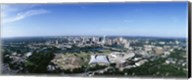 Aerial view of a city, Austin, Travis County, Texas Fine-Art Print