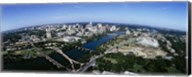 Bird's Eye view of Austin,Texas Fine-Art Print