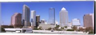 Skyscraper in a city, Tampa, Hillsborough County, Florida, USA Fine-Art Print