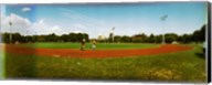 People jogging in a public park, McCarren Park, Greenpoint, Brooklyn, New York City, New York State, USA Fine-Art Print