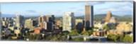 Skyscrapers in a city, Portland, Oregon Fine-Art Print