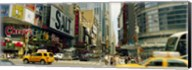42nd Street, Eighth Avenue, Times Square, Manhattan, New York Fine-Art Print