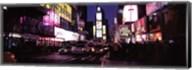 Street scene at night, Times Square, Manhattan, New York City Fine-Art Print