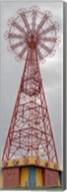 Parachute Jump Tower along Riegelmann Boardwalk, Long Island, Coney Island, New York City, New York State, USA Fine-Art Print