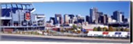 Stadium in a city, Sports Authority Field at Mile High, Denver, Denver County, Colorado Fine-Art Print