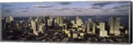 Clouds over the city skyline, Miami, Florida Fine-Art Print