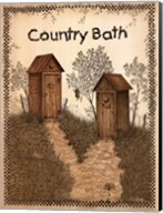 His and Hers Outhouses Fine-Art Print