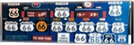 Route 66 Sign Collection Fine-Art Print