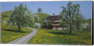 A road through Zug, Switzerland Fine-Art Print