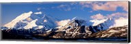 Mountain covered with snow, Alaska Range, Denali National Park, Alaska, USA Fine-Art Print