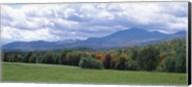 Clouds over a grassland, Mt Mansfield, Vermont, USA Fine-Art Print