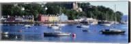 Boats docked at a harbor, Tobermory, Isle of Mull, Scotland Fine-Art Print
