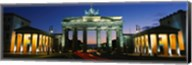 Low angle view of a gate, Brandenburg Gate, Berlin, Germany Fine-Art Print