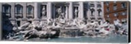 Fountain in front of a building, Trevi Fountain, Rome, Italy Fine-Art Print