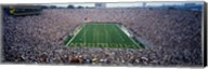 University Of Michigan Football Game, Michigan Stadium, Ann Arbor, Michigan, USA Fine-Art Print
