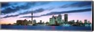 Toronto Skyline from the lake, Ontario Canada Fine-Art Print