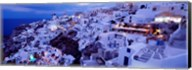 Santorini at Dusk, Greece Fine-Art Print