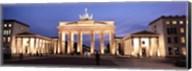 Brandenburg Gate at dusk, Berlin, Germany Fine-Art Print