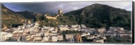 Buildings on a hillside, Cazorla, Andalucia, Spain Fine-Art Print