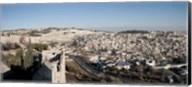 House on a hill, Mount of Olives, and City of David, Jerusalem, Israel Fine-Art Print